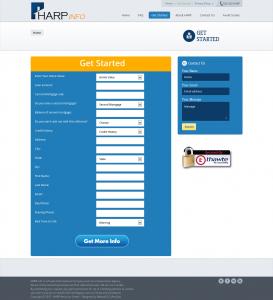 Чистый вариант Landing Page