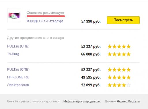 Яндекс.Советник